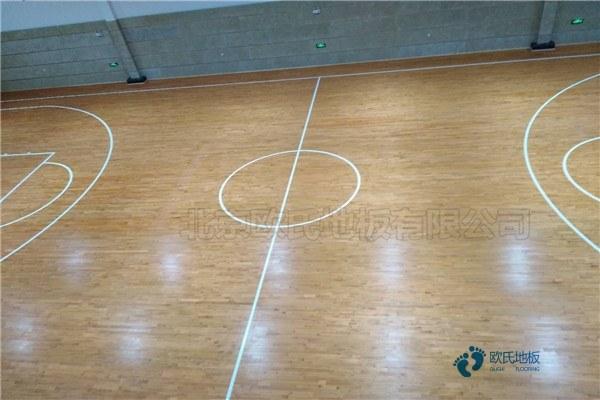 甘肃枫木篮球场地板厂家批发