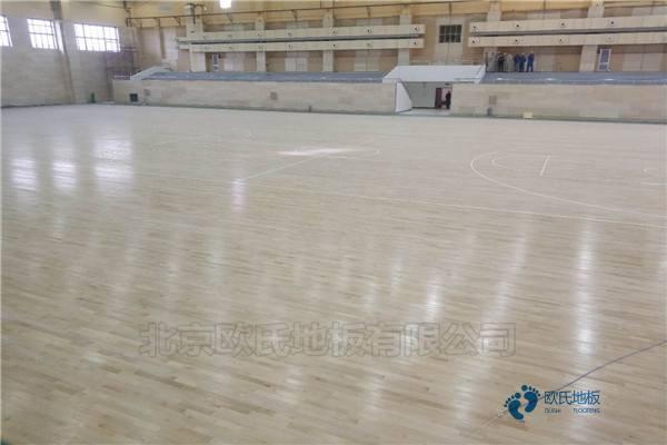 专业篮球馆地板结构