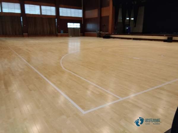 赛事场馆篮球木地板施工工艺