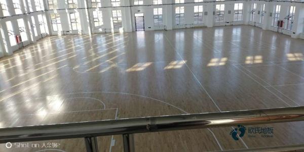 多少钱一平米?体育馆木地板训练场馆