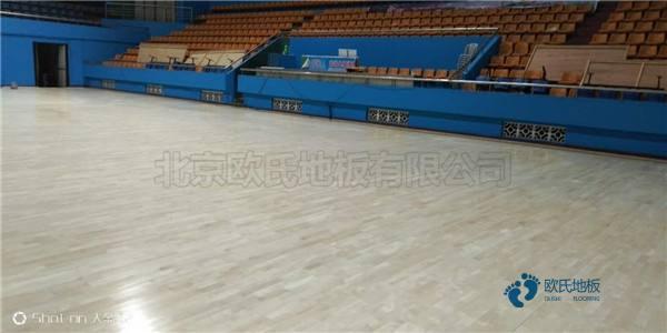 篮球运动木地板训练场馆价格
