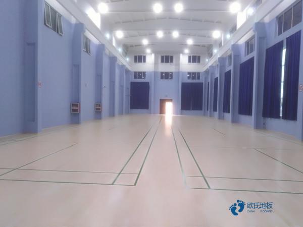 体育木地板专业养护
