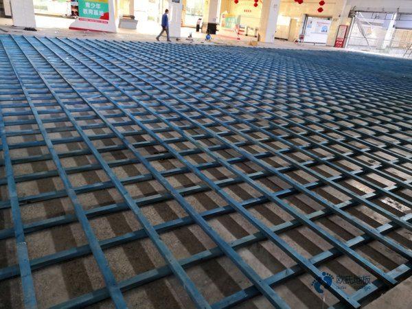 橡胶木NBA篮球场木地板一般多少钱?