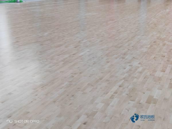 22厚安装工艺体育木地板