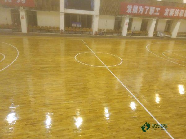 上海专用篮球木地板批发