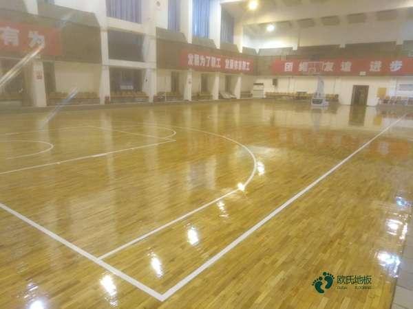 20厚生产厂家体育馆木地板
