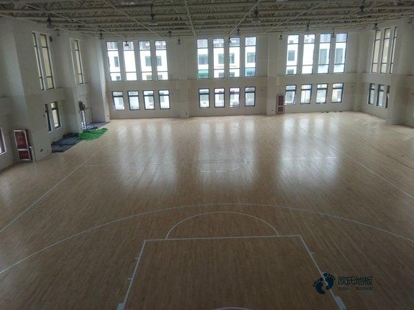 常用的体育场馆木地板报价