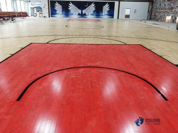 比赛场馆篮球馆木地板多少钱