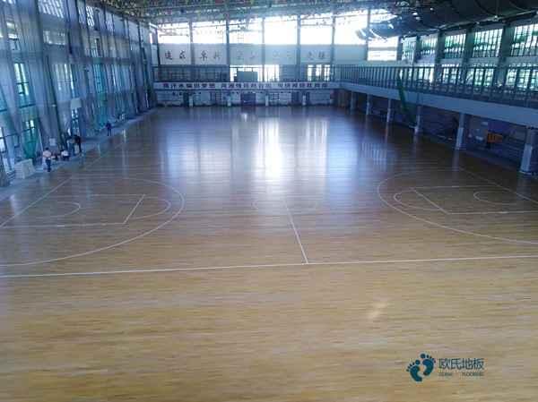 专业篮球场木地板厂家直销