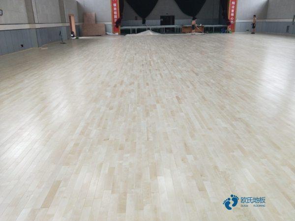 出色的篮球地板