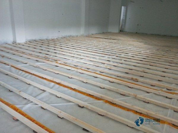 比赛场馆篮球木地板翻新