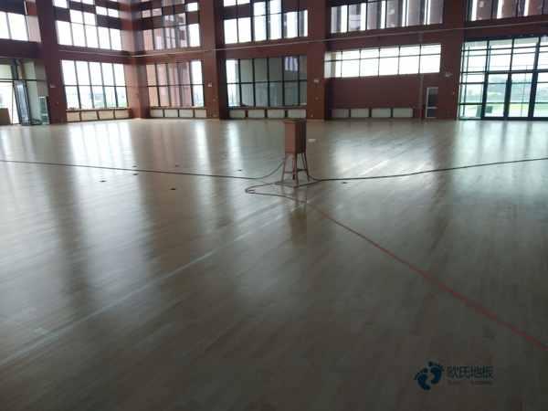 单层运动场地板