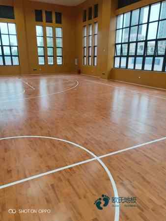 赛事场馆体育木地板每平米价格