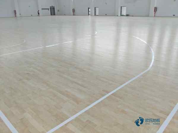 企口篮球木地板打磨翻新