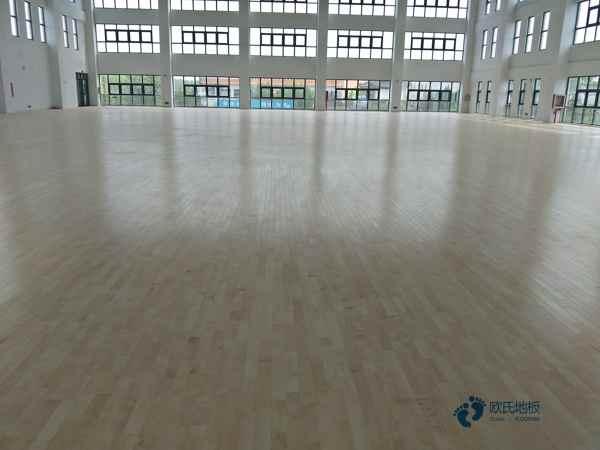 硬木企口篮球地板多少钱一平米