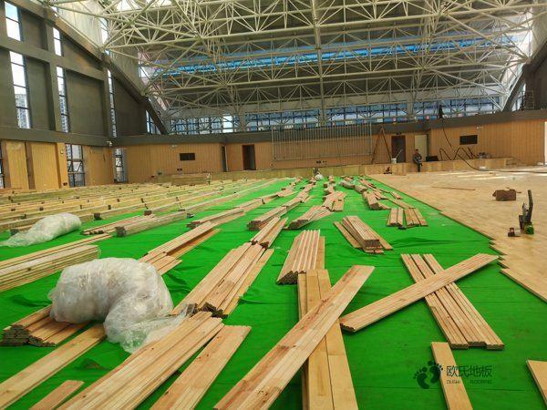 学校舞台木地板施工工艺