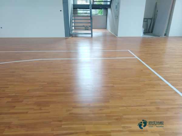 企口篮球馆木地板直销