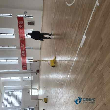 室内运动木地板施工工艺
