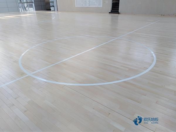 学校篮球场木地板大全