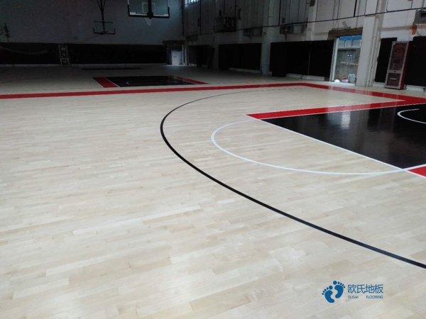 俄勒冈松乒乓球馆木地板每平米价格