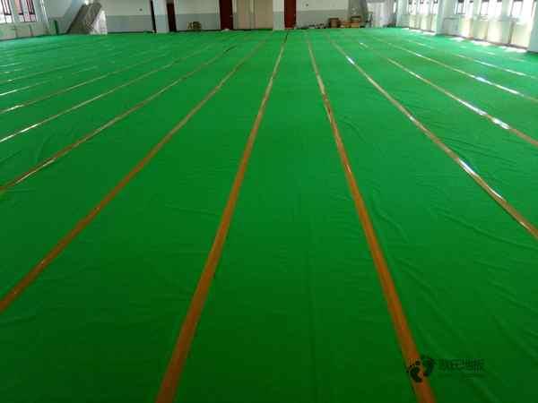 松木运动实木地板是多少钱
