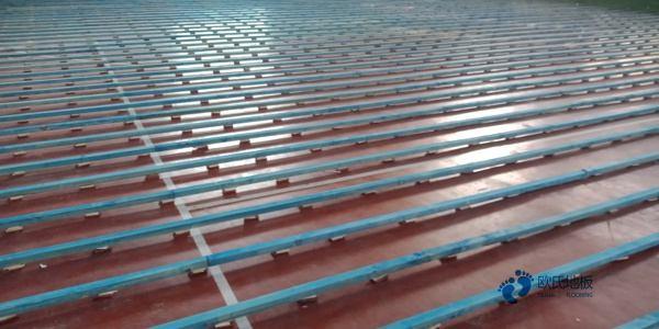 拼装体育馆木地板怎么维修