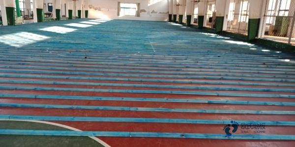 赛事场馆体育木地板直销