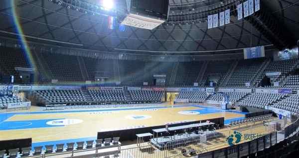 橡胶木木地板篮球场双层龙骨结构