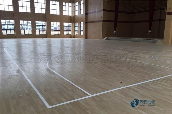 西宁枫桦木体育场地板厂家