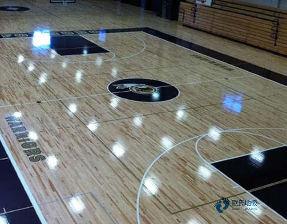 枫桦木篮球运动木地板安装工艺