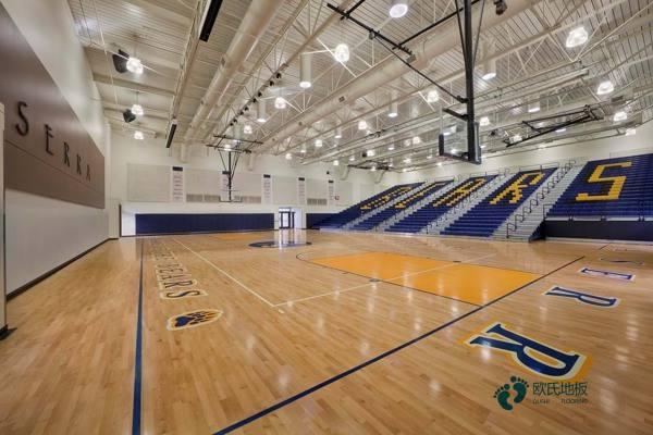 大型篮球场地板怎么维护