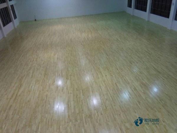 安装工艺体育木地板学校