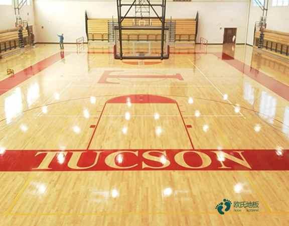 拼接板运动篮球地板板式龙骨结构