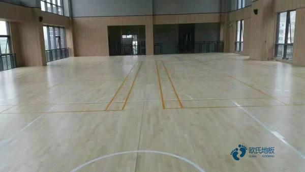 规格20厚篮球运动木地板