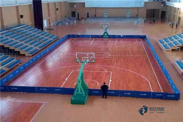 柞木篮球实木运动地板多少钱