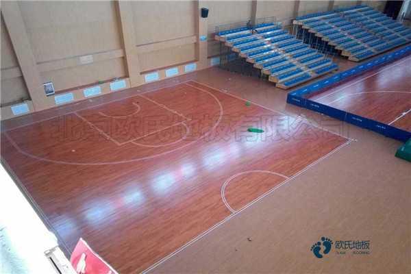 柞木篮球地板价格及图片