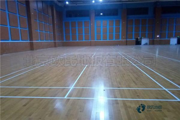 福建专用篮球场地板公司