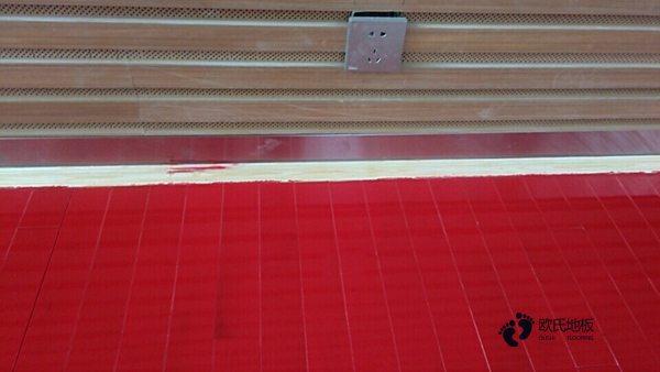 柞木篮球场实木地板报价