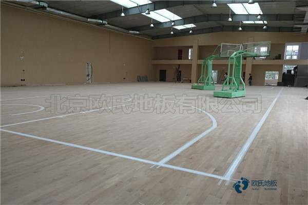 私人篮球场木地板厂