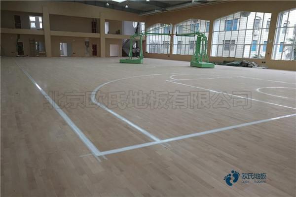 青海企口篮球地板厂