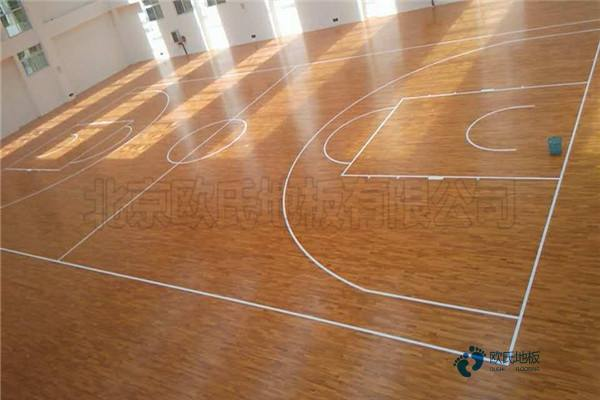 石家庄专用实木运动地板厂