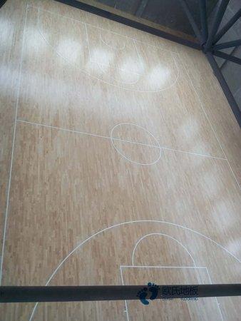 柞木体育场木地板报价