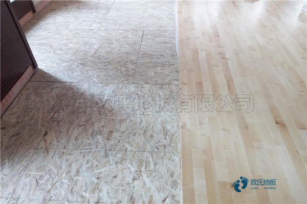硬木企口篮球馆木地板多少钱一平米?