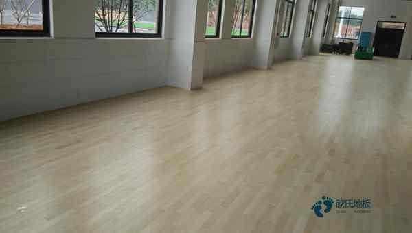 专用舞蹈房木地板怎么维护