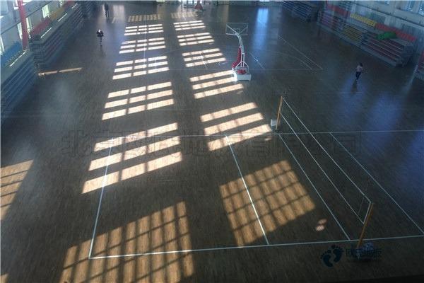 企口篮球木地板厂家