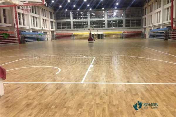 赛事场馆实木运动地板维护