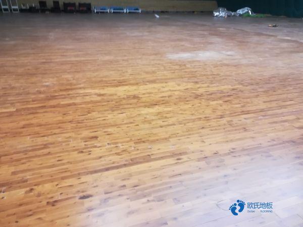 五角枫舞台运动木地板批发