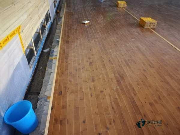 鞍山运动木地板施工价格