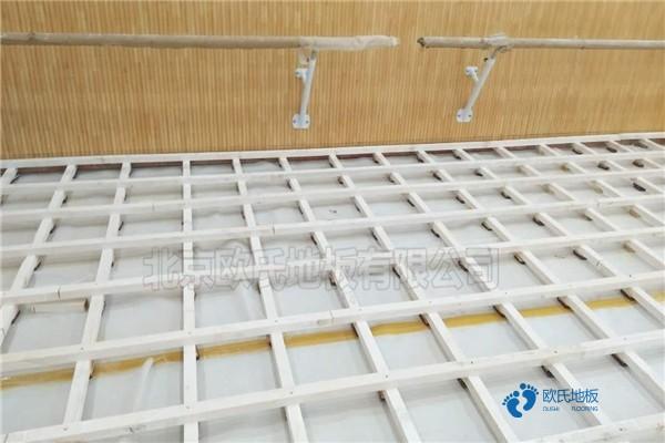 专用篮球地板施工方案