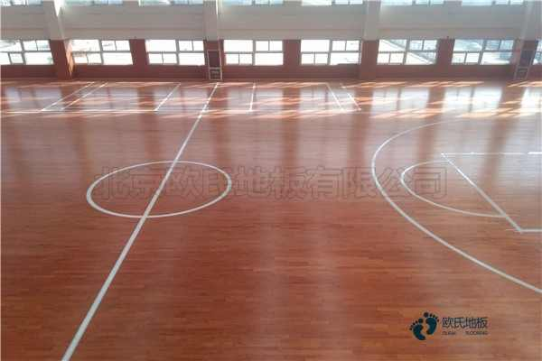 企口篮球场木地板生产厂家